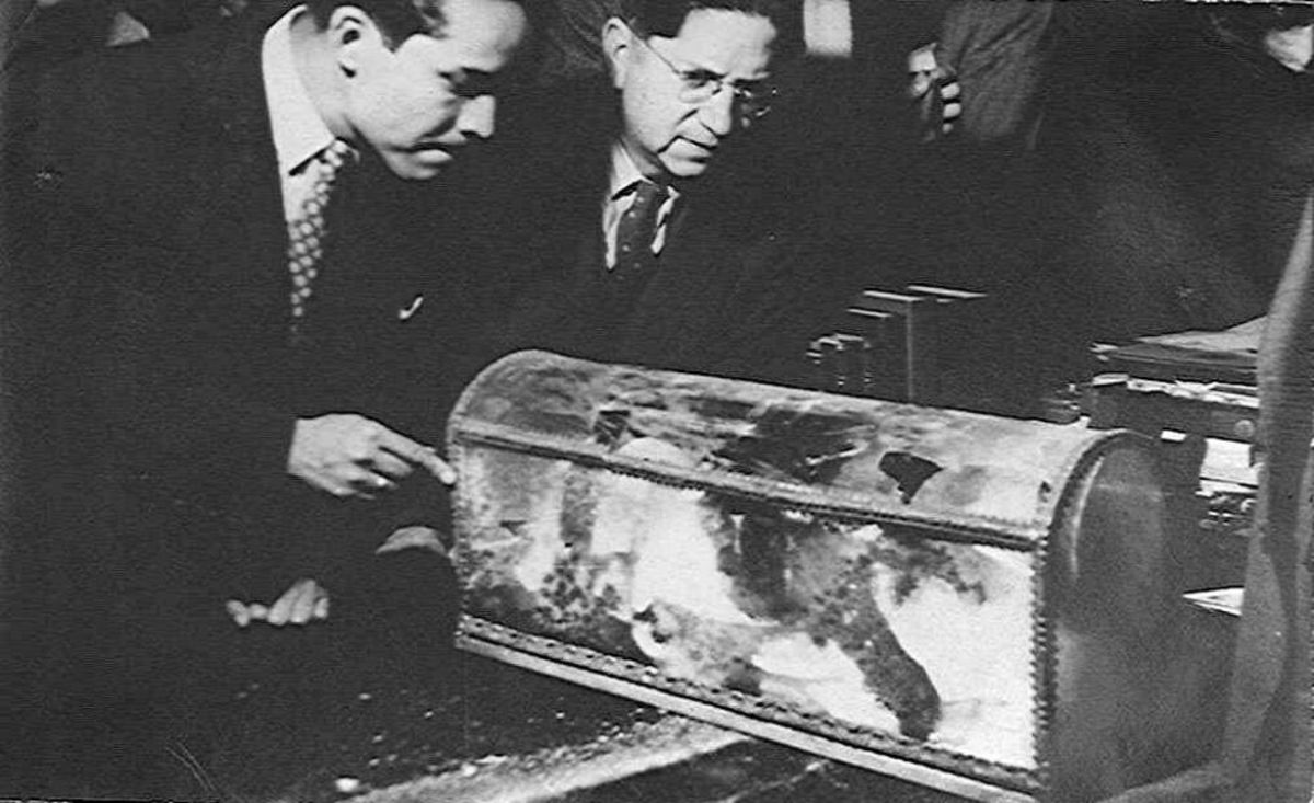 The 1946 examination of the bones of Herman Cortes'.