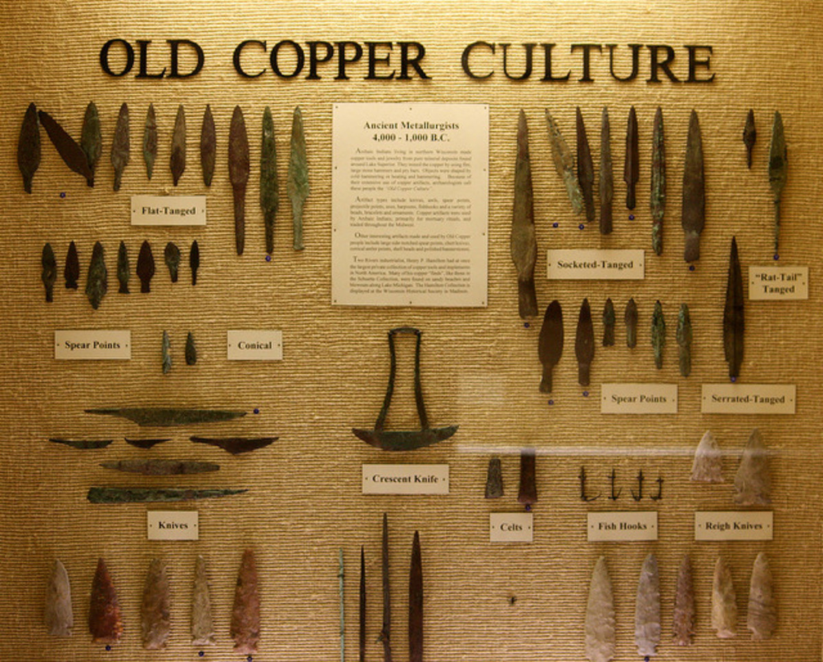 The Hu Kadesh used copper not just for earrings and jewelry but for all their tools, from spades and pickaxes to weapons.