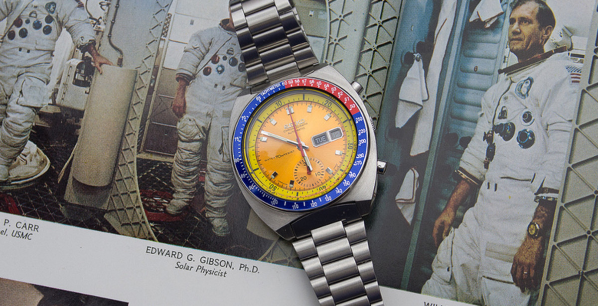 Colonel Pogue Wore the Seiko Automatic in 1973 on the Skylab 4 Mission.
