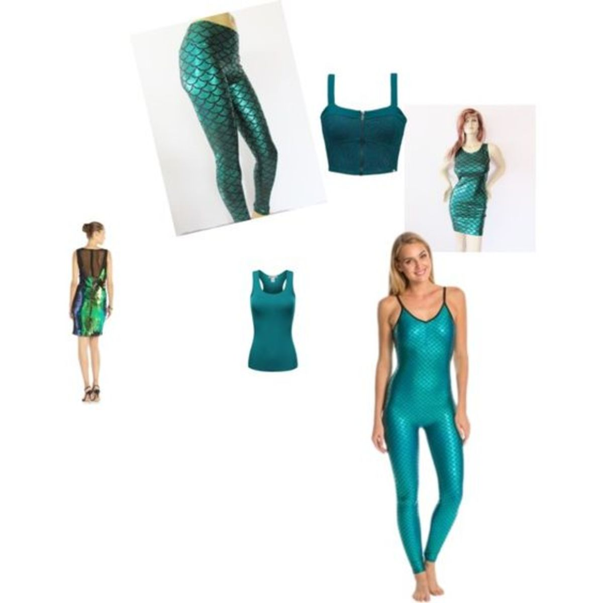 I found these ideas on Pinterest - it shows a couple good ideas for that Mera costume you are making.  If you can copy any of these items your costume will be looking good.
