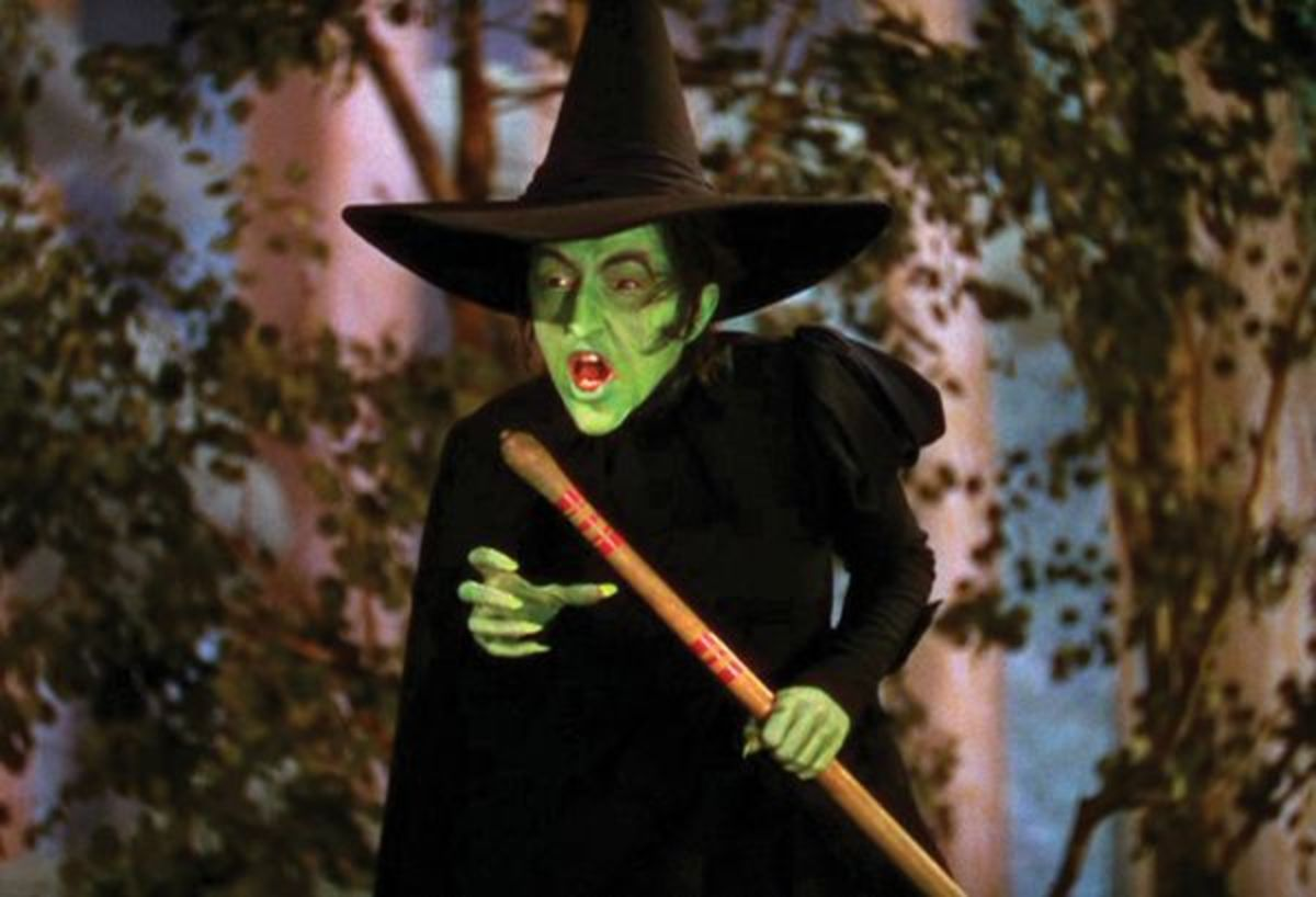 This is a frightening witch - gotta love her!