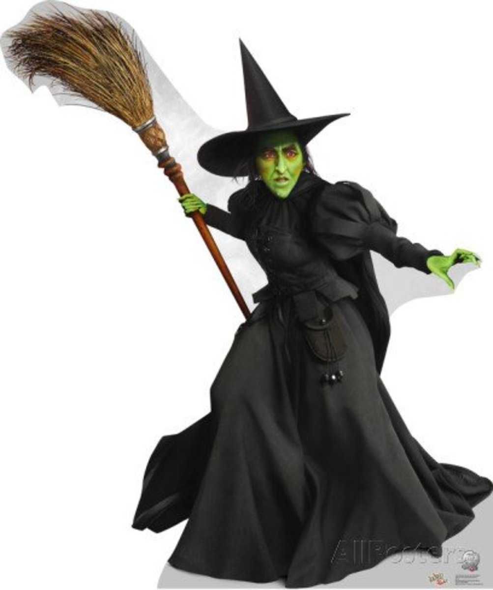 Wicked Witch Of The West Flying On Her Broom Make Your Own Wicked W...