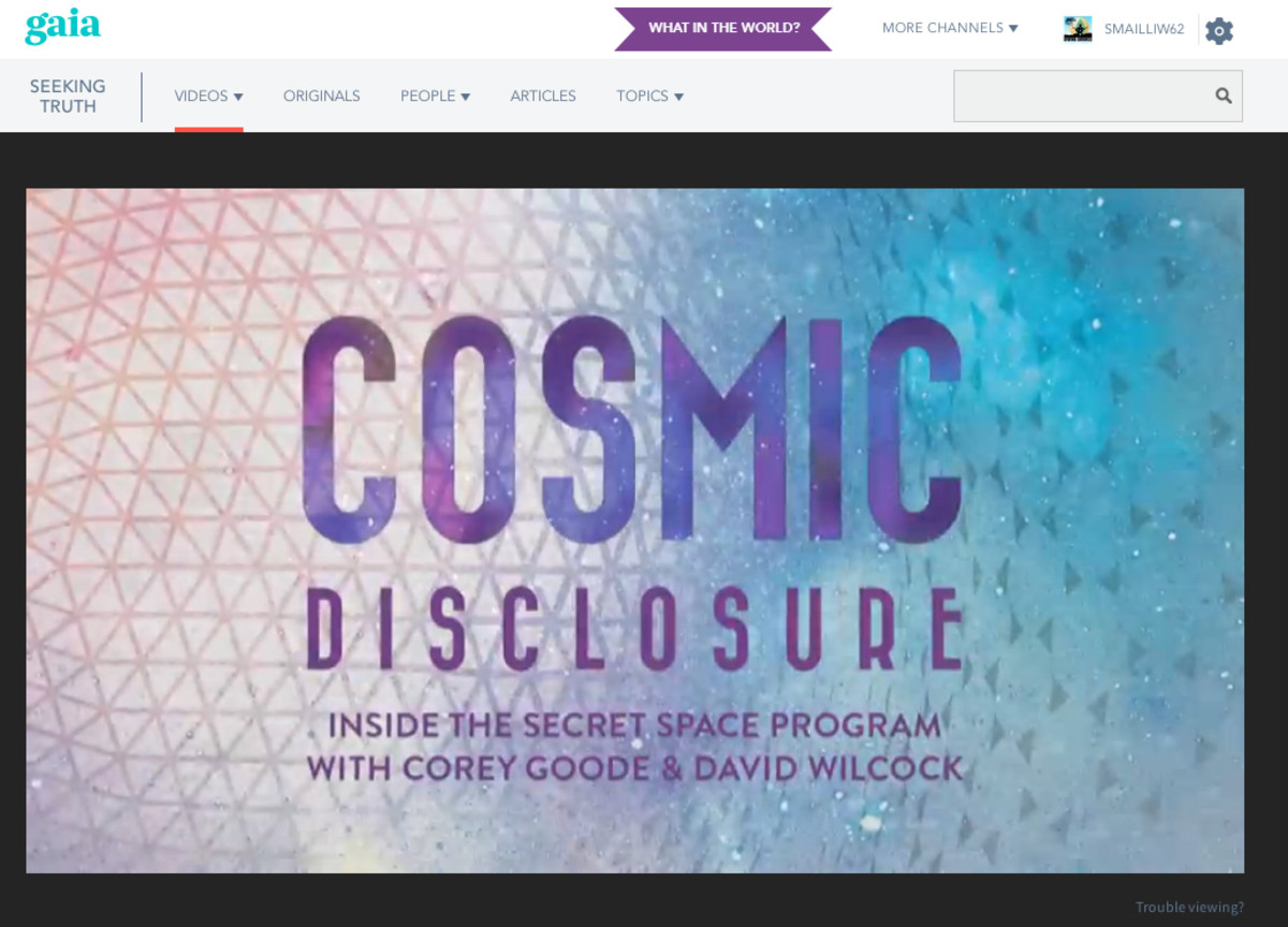 Cosmic Disclosure - Will The Real David Wilcock Please Stand Up!
