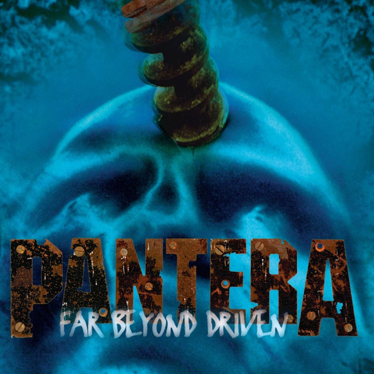 The album cover for Far Beyond Driven can represent a decline in the band's career as this image shows. Pantera were never the same band after their 1992 album Vulgar Display of Power.
