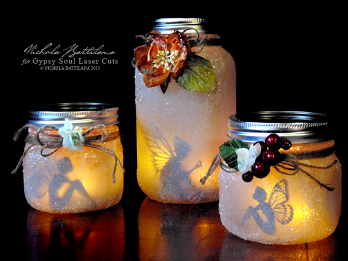 DIY Mason Jar Fairy Tutorial