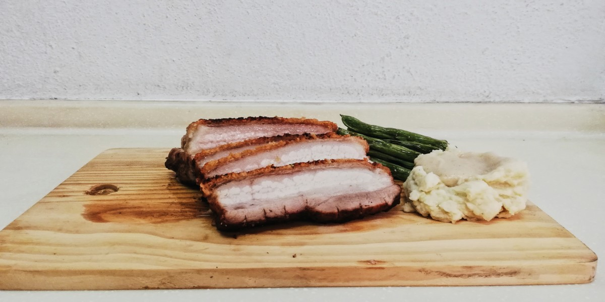 East & West Style Crispy Roast Pork Recipe