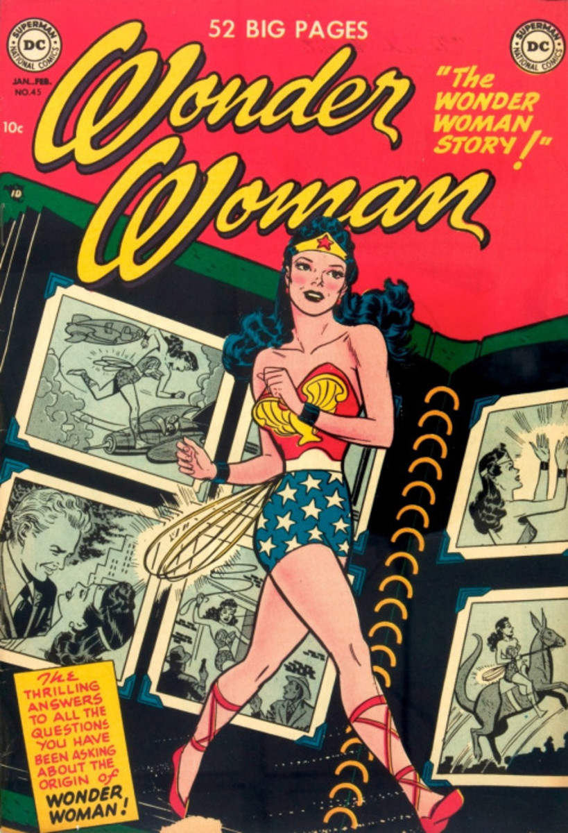 Wonder Woman in the 1950's