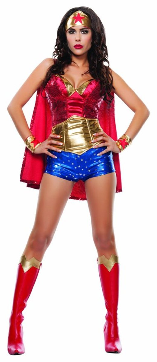 There are several style costume ideas to choose from when you decide to wear a Wonder Woman Halloween costume