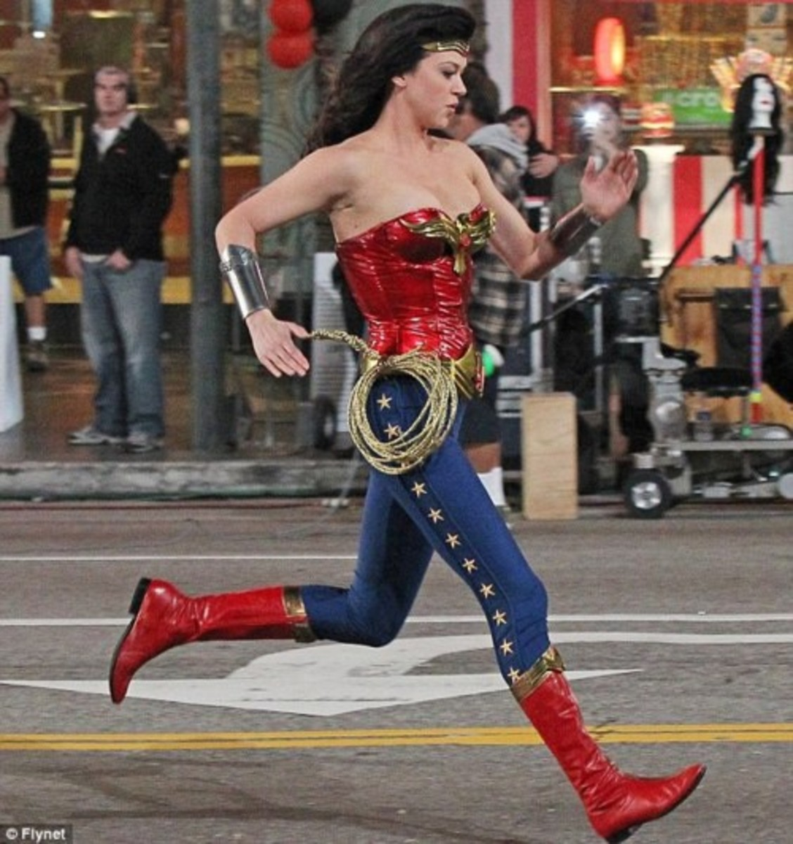 TV Wonder Woman costume in 2011
