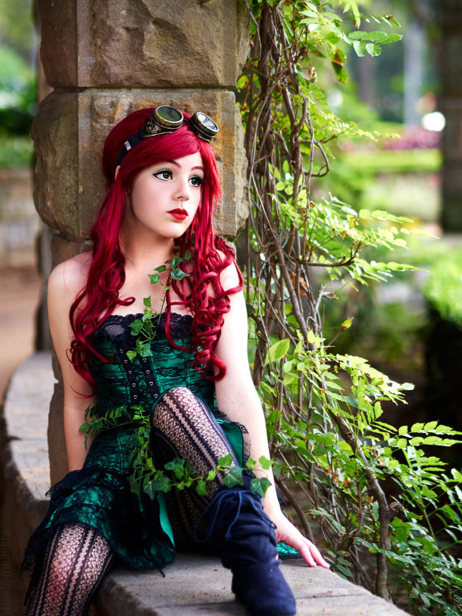 Steam Punk Poison Ivy Costume