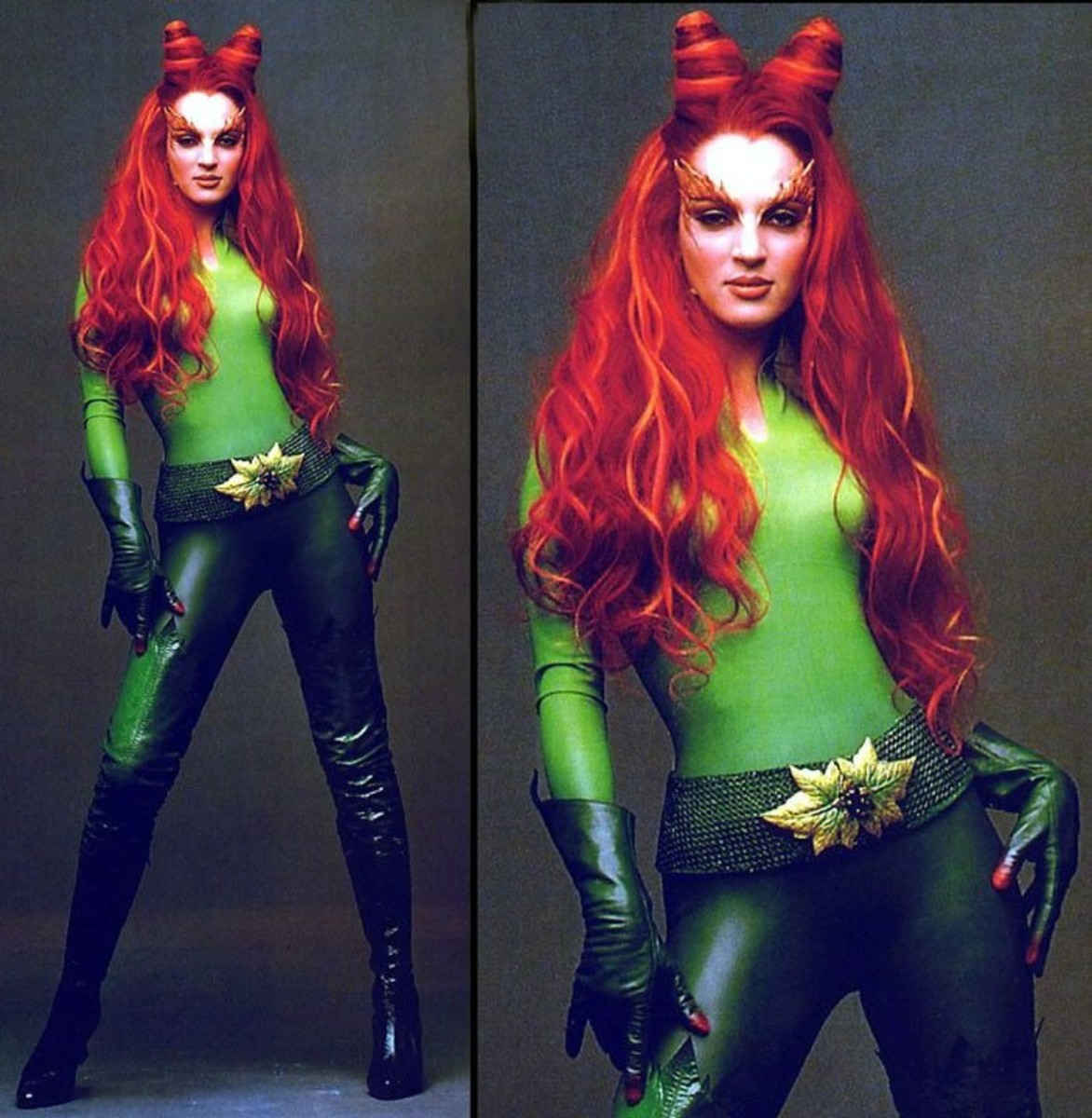 Make Your Own Poison Ivy Costume Diy Halloween Costume