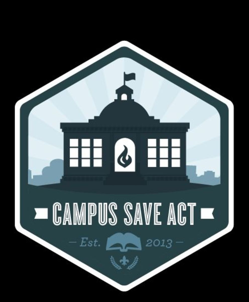 The Campus SaVE Act is intended to increase transparency on campus about incidents of sexual violence, guarantee victims (but not accused) enhanced rights, set standards for disciplinary proceedings, and require campus-wide prevention