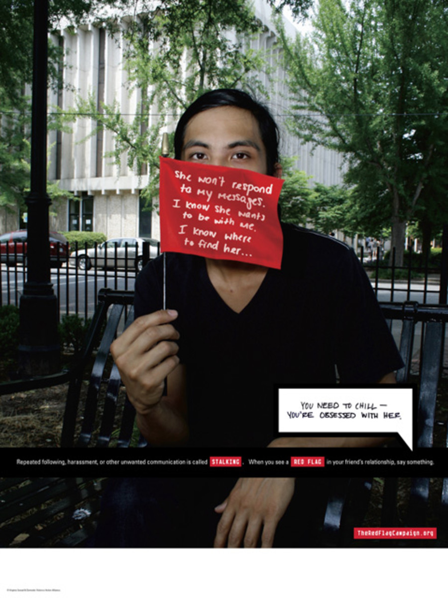 Campaign focused on bystander intervention to help college-aged people recognize and respond when their friends are experiencing or perpetrating dating violence. Seven types of situations are defined such as, Emotional Abuse and Victim-Blaming