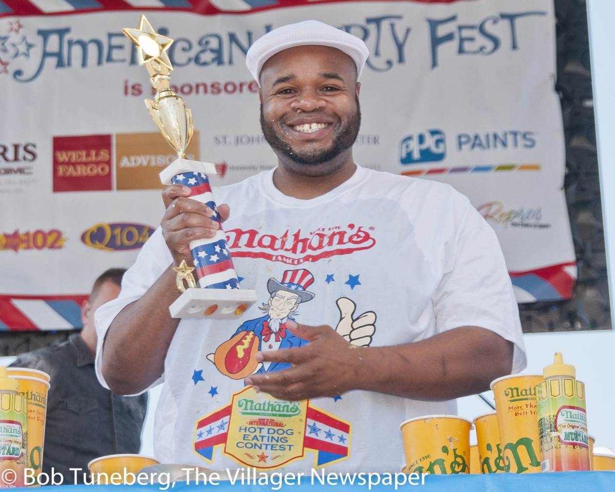 """Jeff  """"The Beast Man""""  Butler with another  award."""