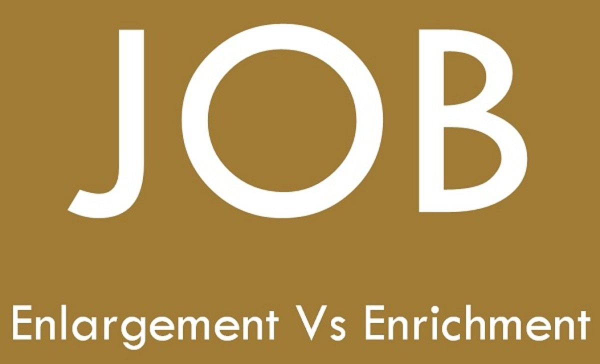 enlarge your business by enlarging the job