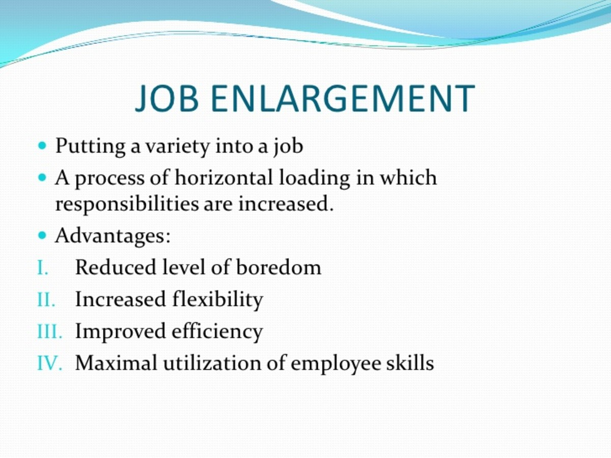 A job without enrichment is just a highly paid chore