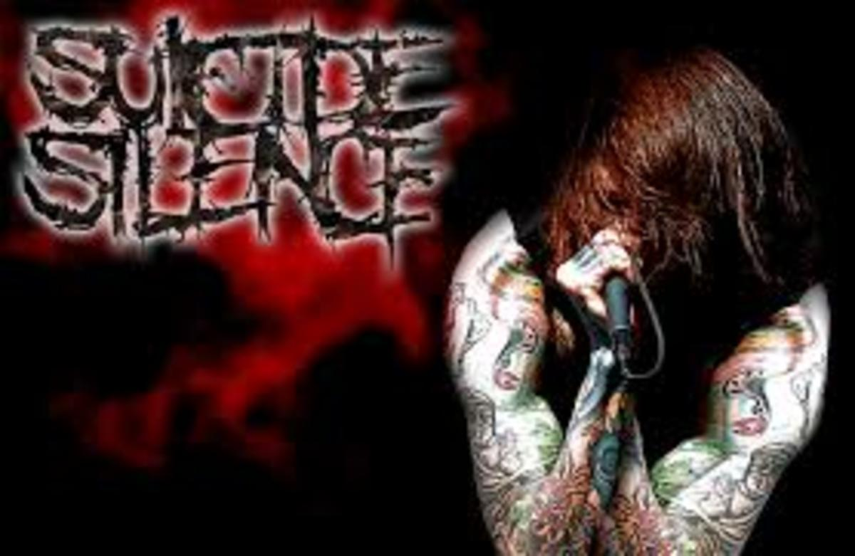 An example of a deathcore band.