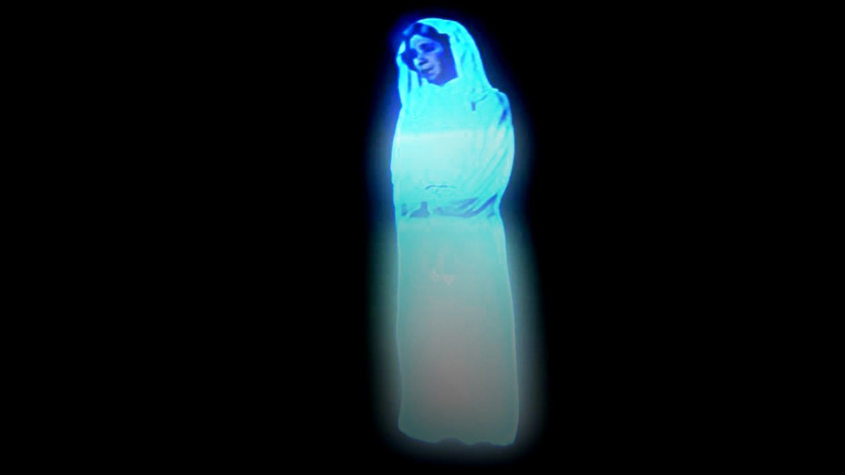 Princess Leia Hologram Star Wars