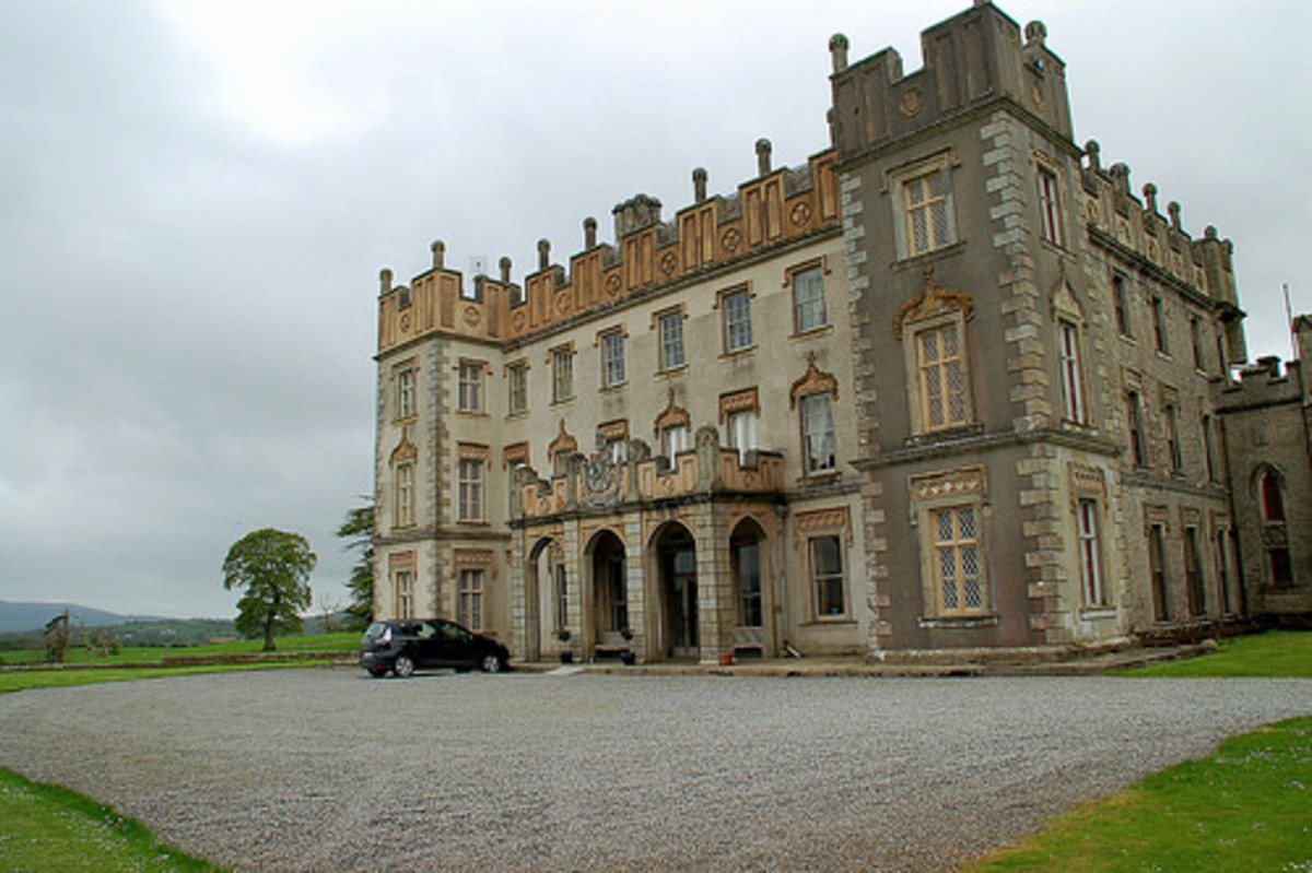 Arthur Kavanagh's home Borris House.