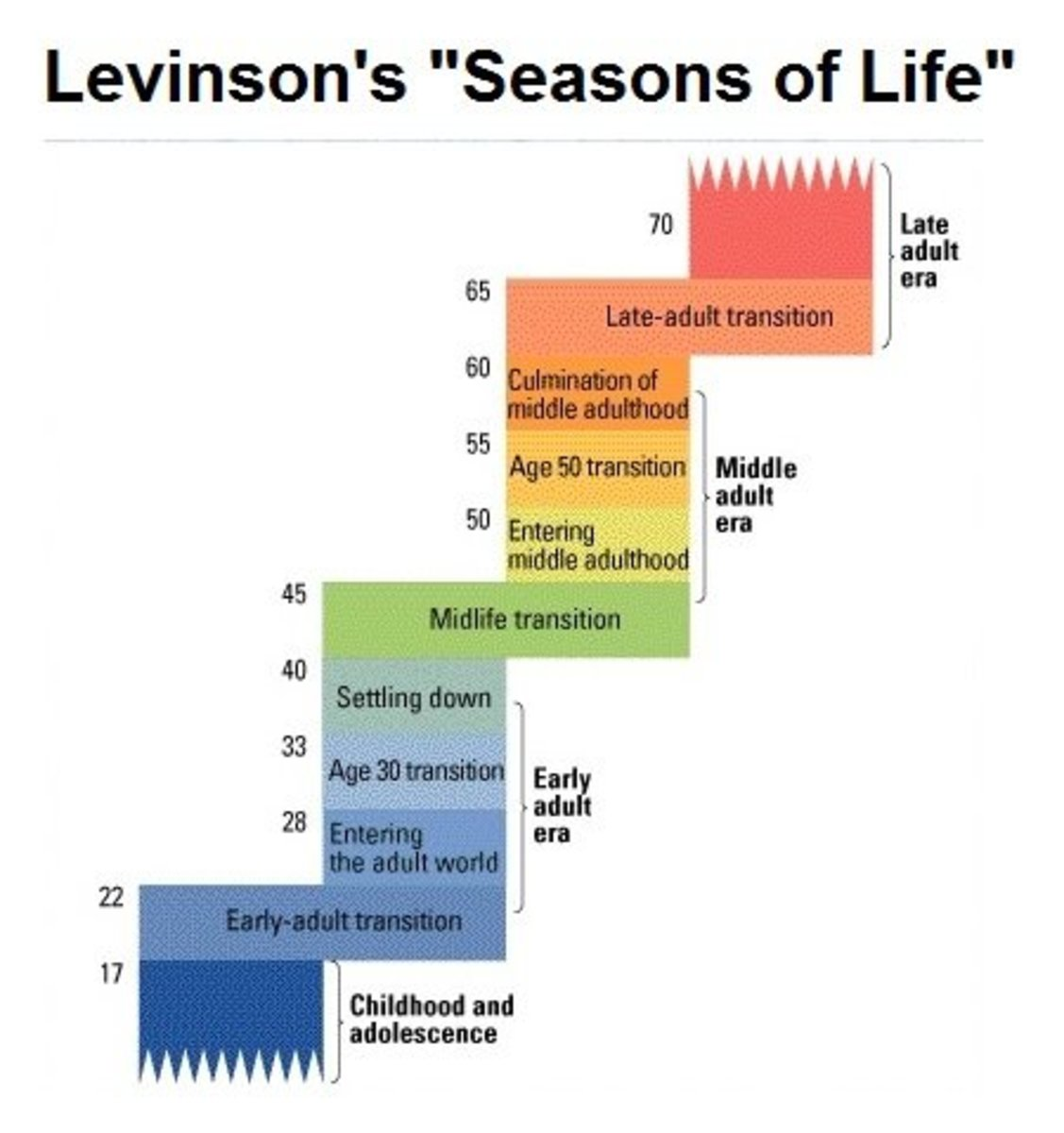 Daniel Levinson's Lifespan Development Theory
