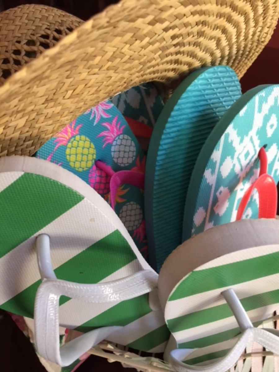 For the Love of Flip Flops, or Are Flip Flops America's National Shoe?