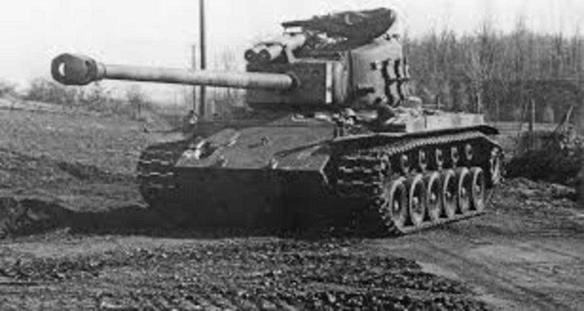 The Pershing Tank