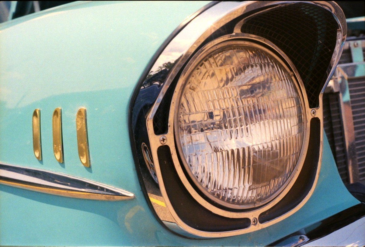Sealed-beam lamps.