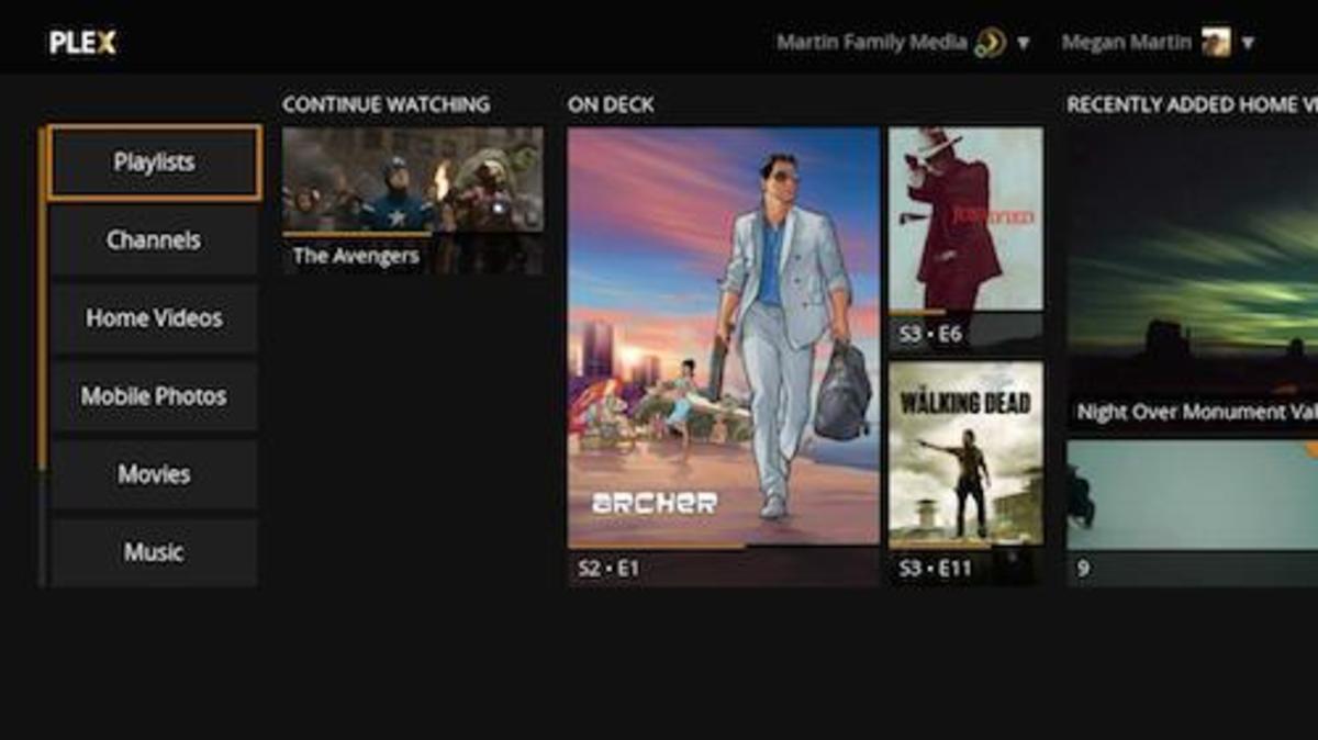 Access content hosted on a Plex Media Server through the Plex app for Roku.