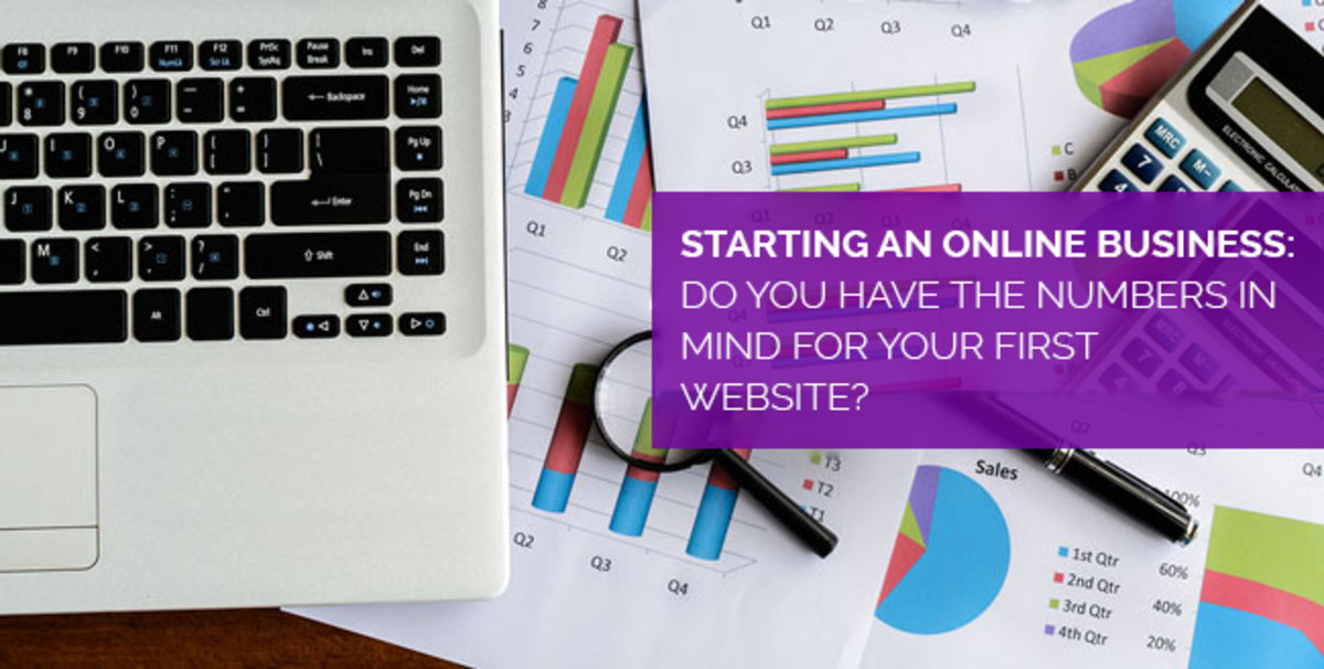 Starting an Online business: Do you have the numbers in mind for your first website?