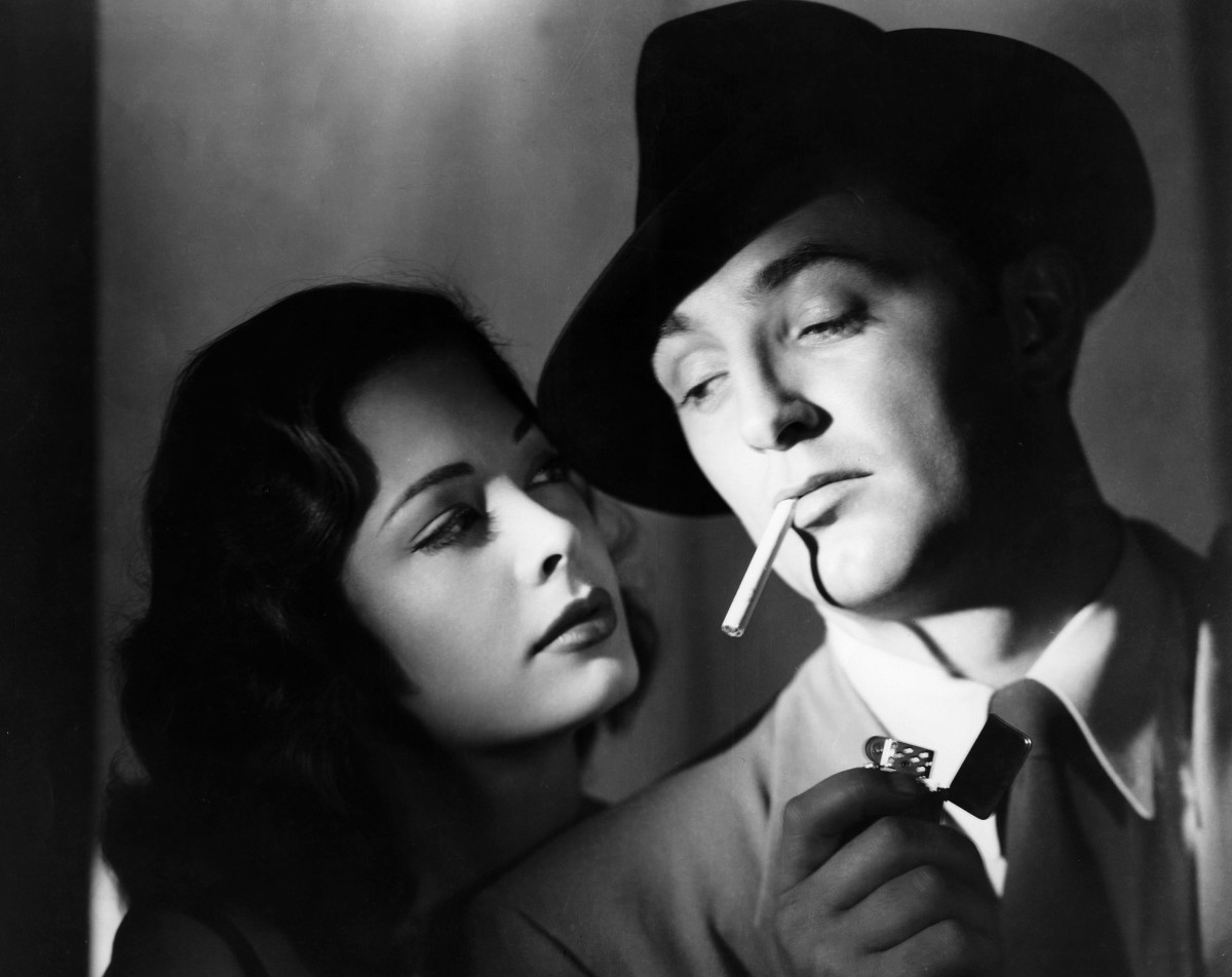 "If ever there was a ""film noir face"" it was Robert Mitchum. He had ""The Look."" He didn't even have to act. Naturally cool, hard, tough, bemused and dares ya to hit him."