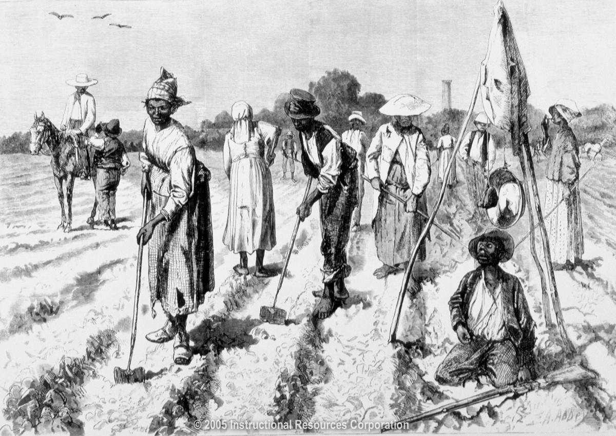 Slaves Planting Crops