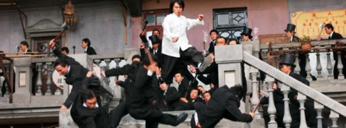 A still from Kung Fu Hustle
