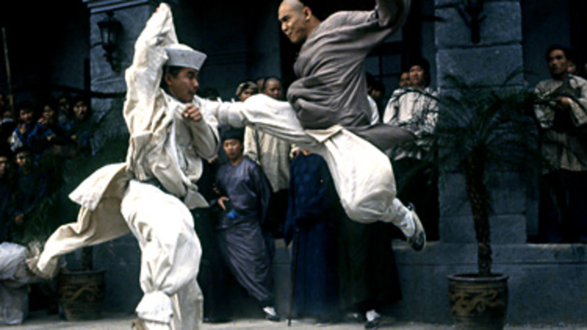 A still from Once Upon a Time in China