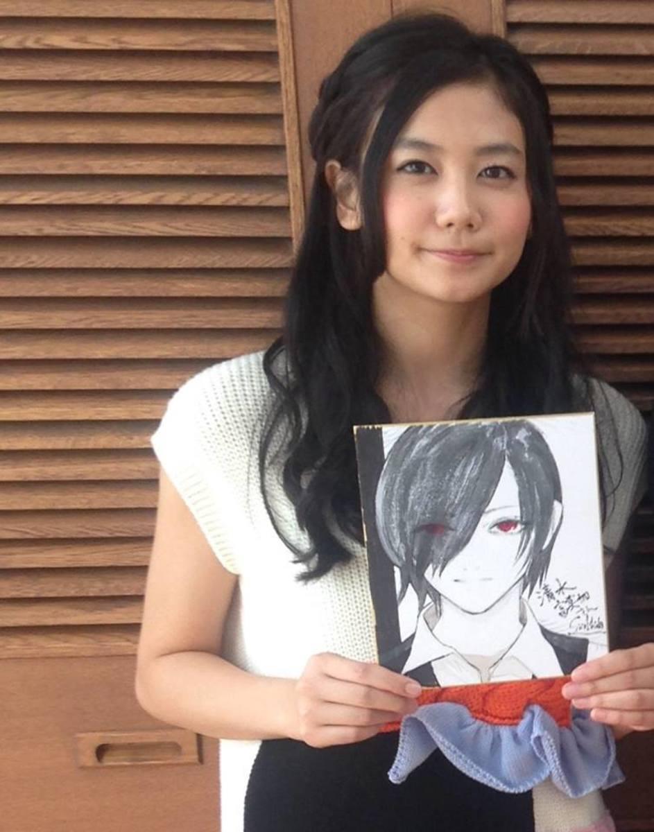 Ishida's illustration for Touka's voice actress.