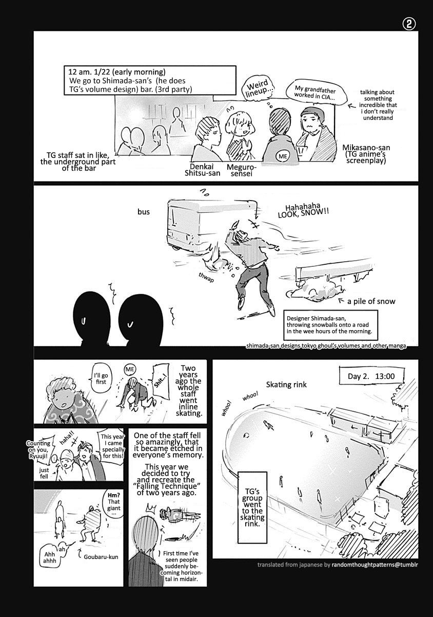 The omake about Ishida's trip [Page 2].
