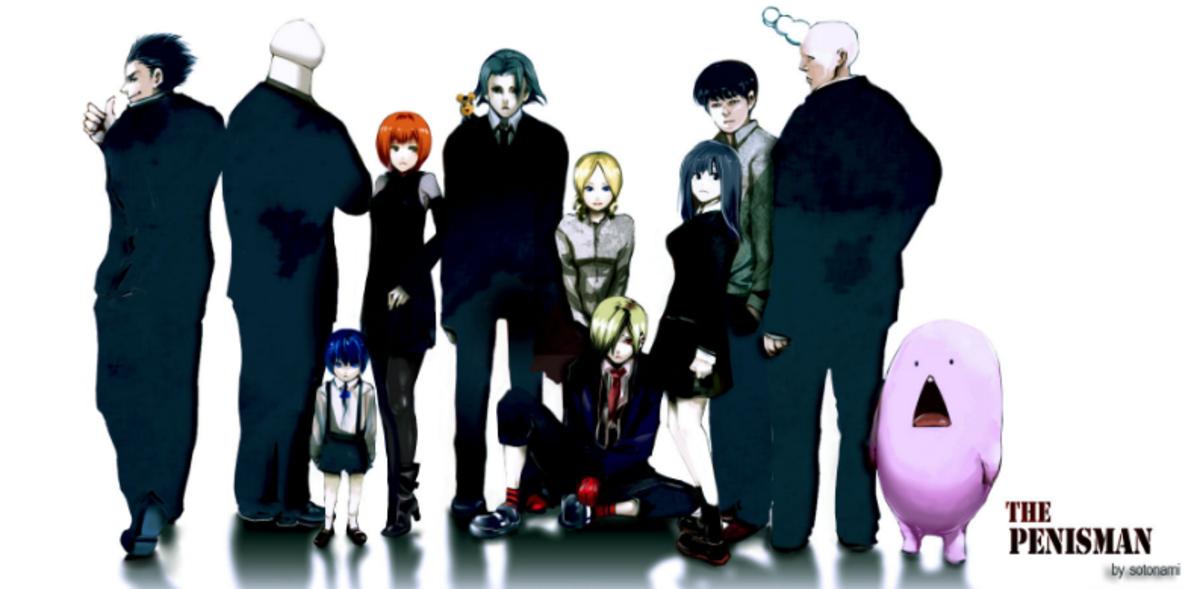 The Penisman, a webcomic by Ishida Sui.