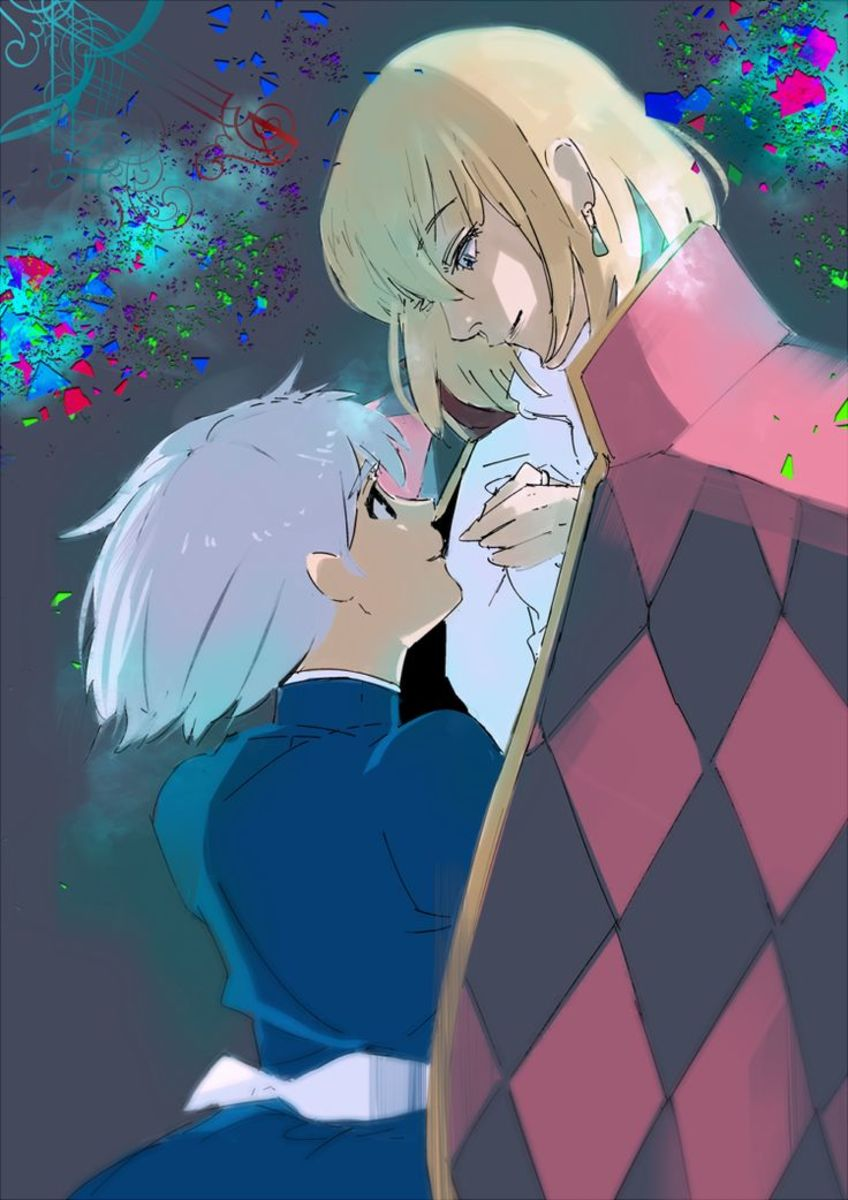 Ishida's illustration of Howl's Moving Castle.