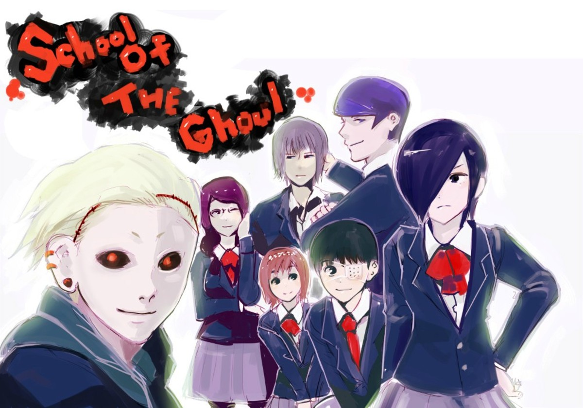 Ishida Sui's non-canon parody webcomic School of Ghoul.