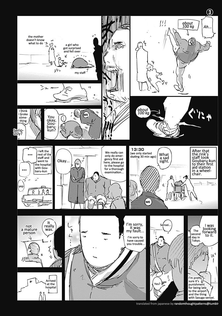 The omake about Ishida's trip [Page 3].