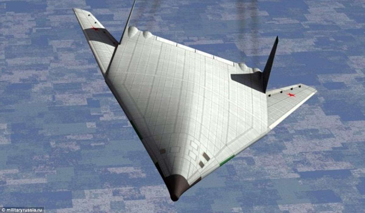 The PAK-DA is also thought to be using electrogravitics as propulsion.