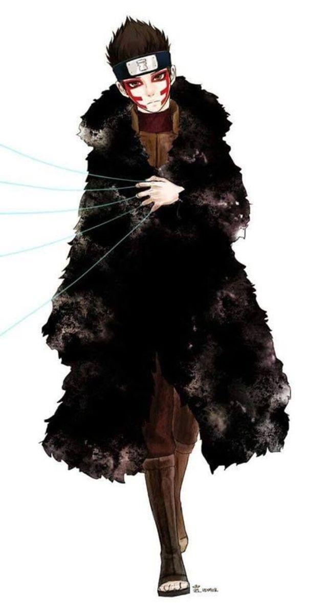 Shinki wearing his cloak from iron sand.