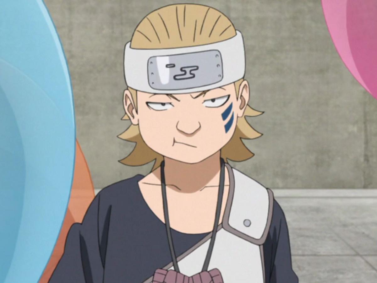 Yurui with his tattoo.