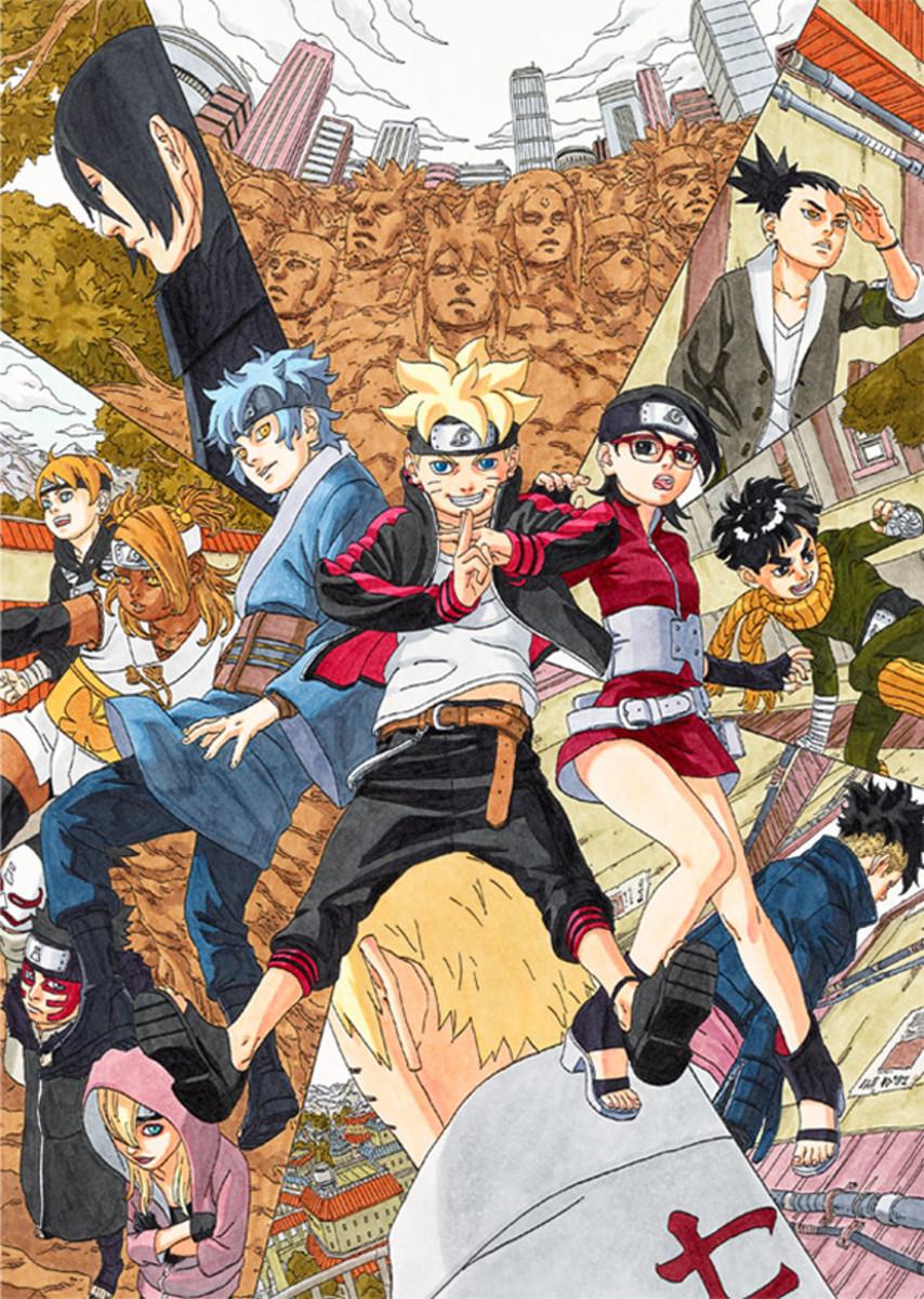 Boruto: Naruto Next Generations characters.