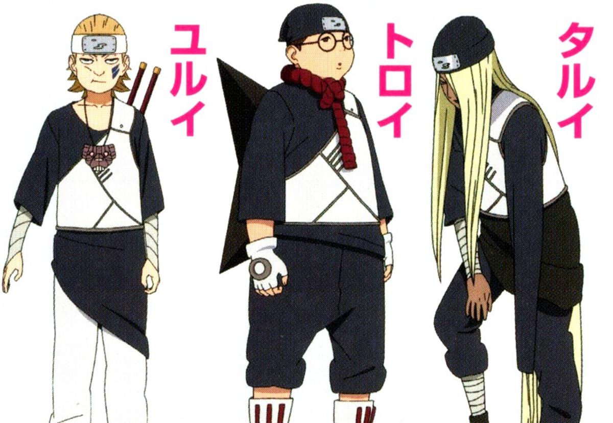 Yurui, Tarui and Toroi.