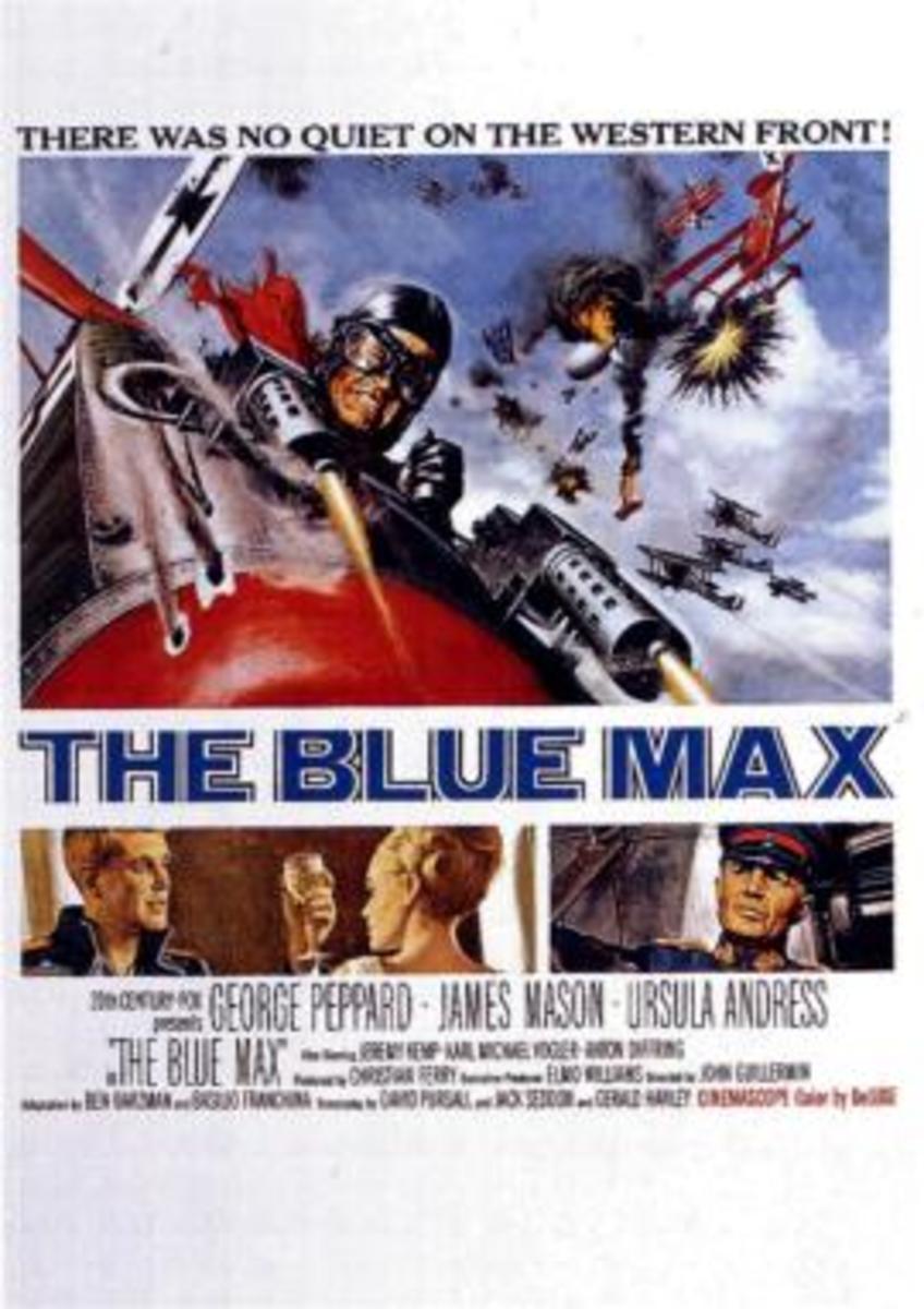 The Blue Max:  More than an Air Combat Movie