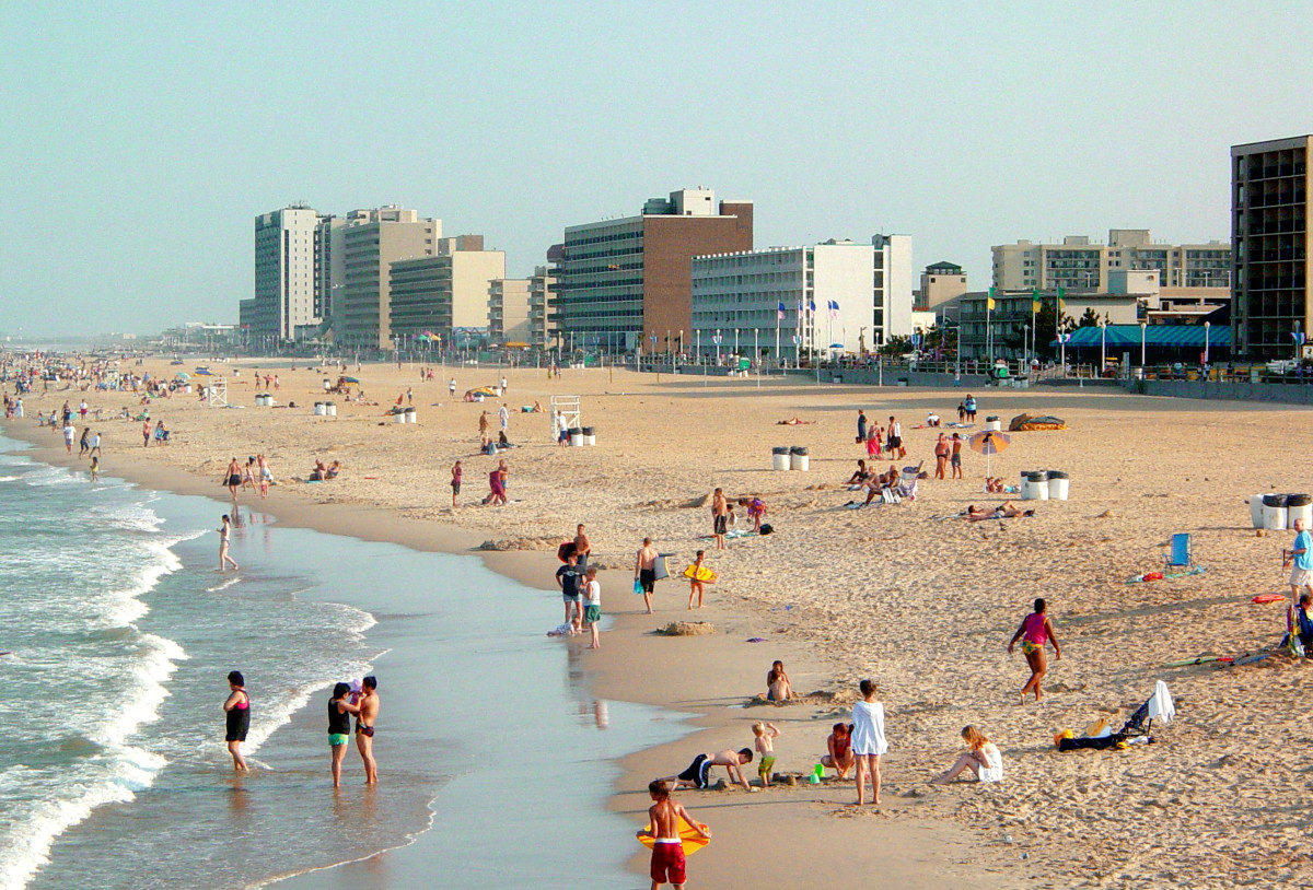 Virginia Beach is not the capital of Virginia, but it is the largest city in Virginia. Its population more than doubles the population of the next largest city.