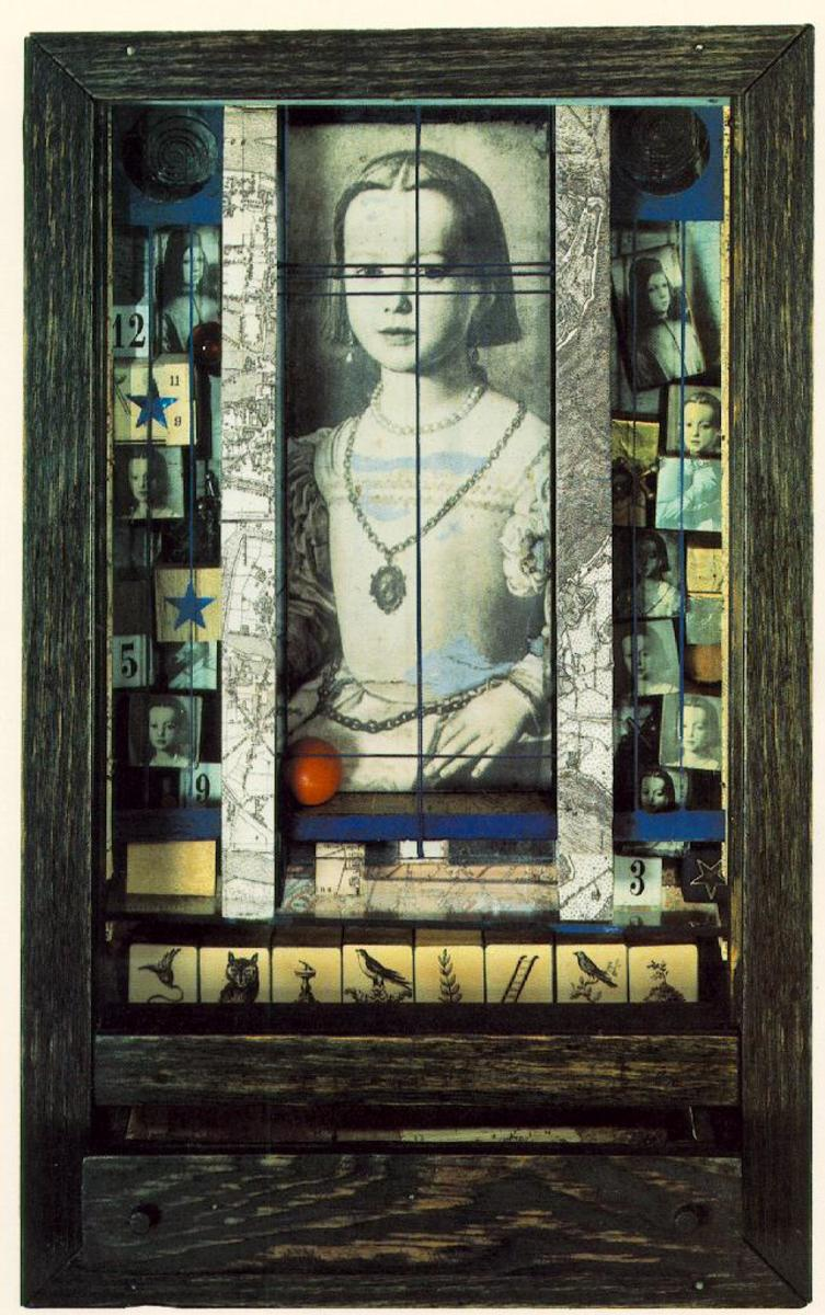 One of Joseph Cornell boxes assemblages