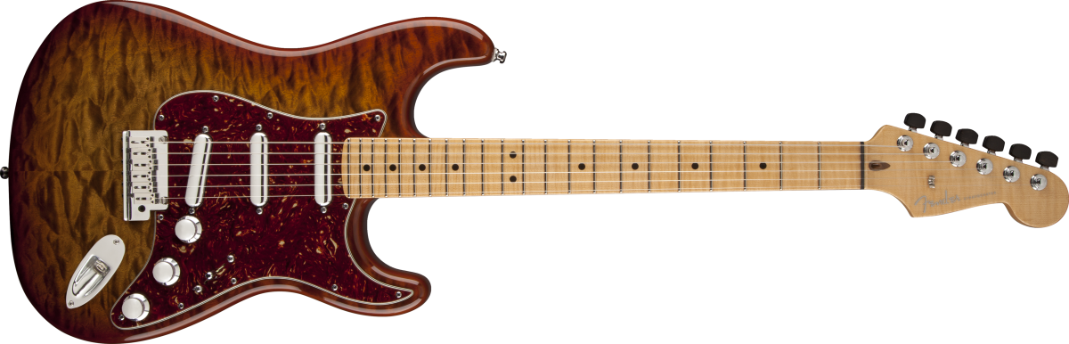Quilt Maple Top Artisan Strat