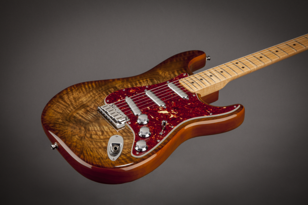 5 Great Strat Style Guitars with Maple Tops