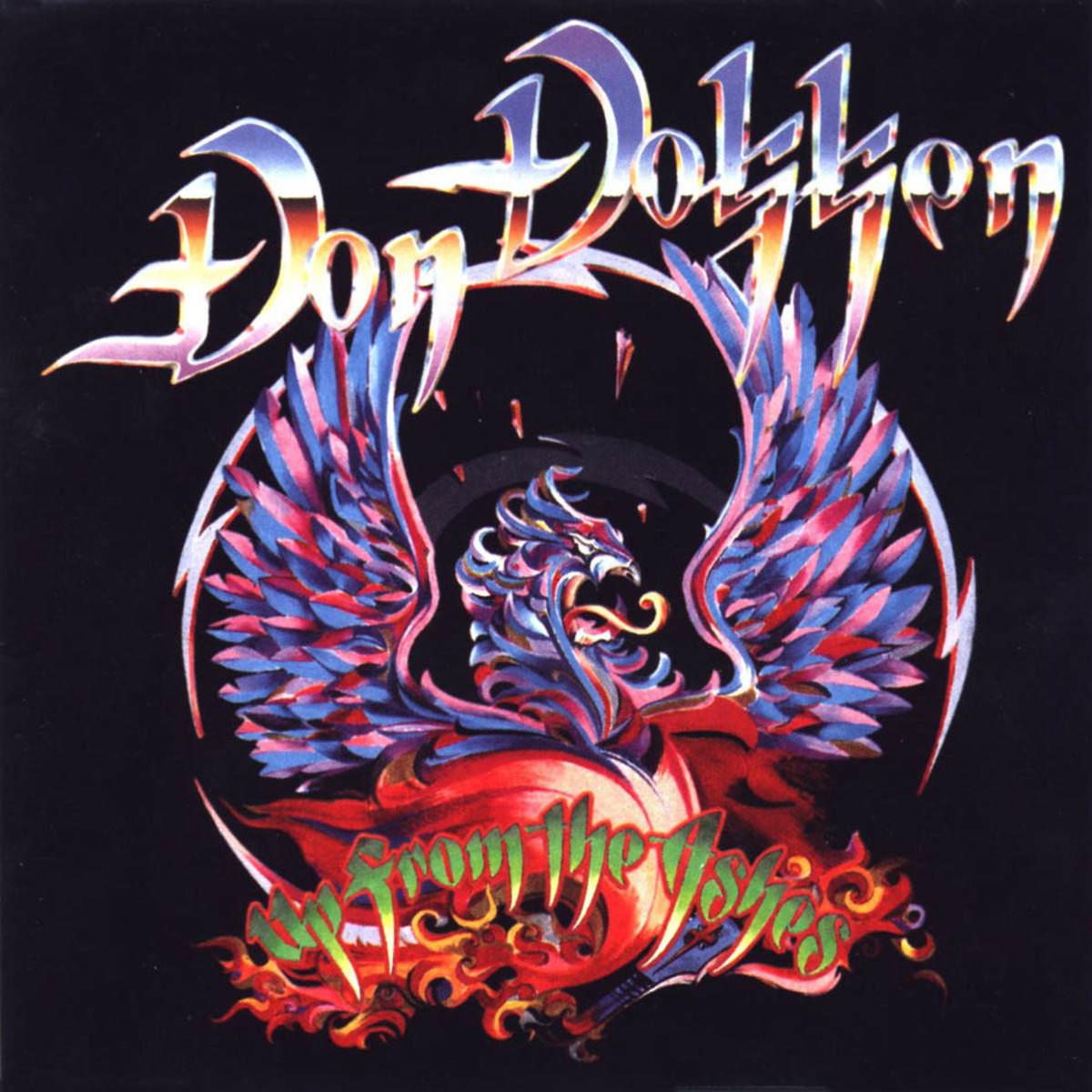Dokken Vocalist Don Dokken explores a different side of himself with his 1990 solo album Up From the Ashes